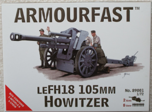 Armourfast 20mm 89001 German LeFH.18 105mm Howitzer